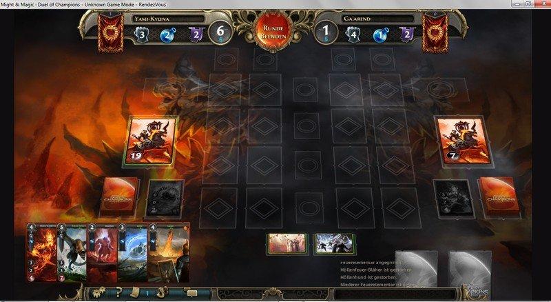Screenshot vom Spiel