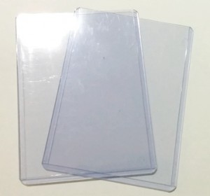 Hartplastik-Hüllen