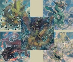 Die Yang-Zing Monster aus Duelist Alliance
