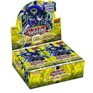 The New Challengers - 24 Booster je Display