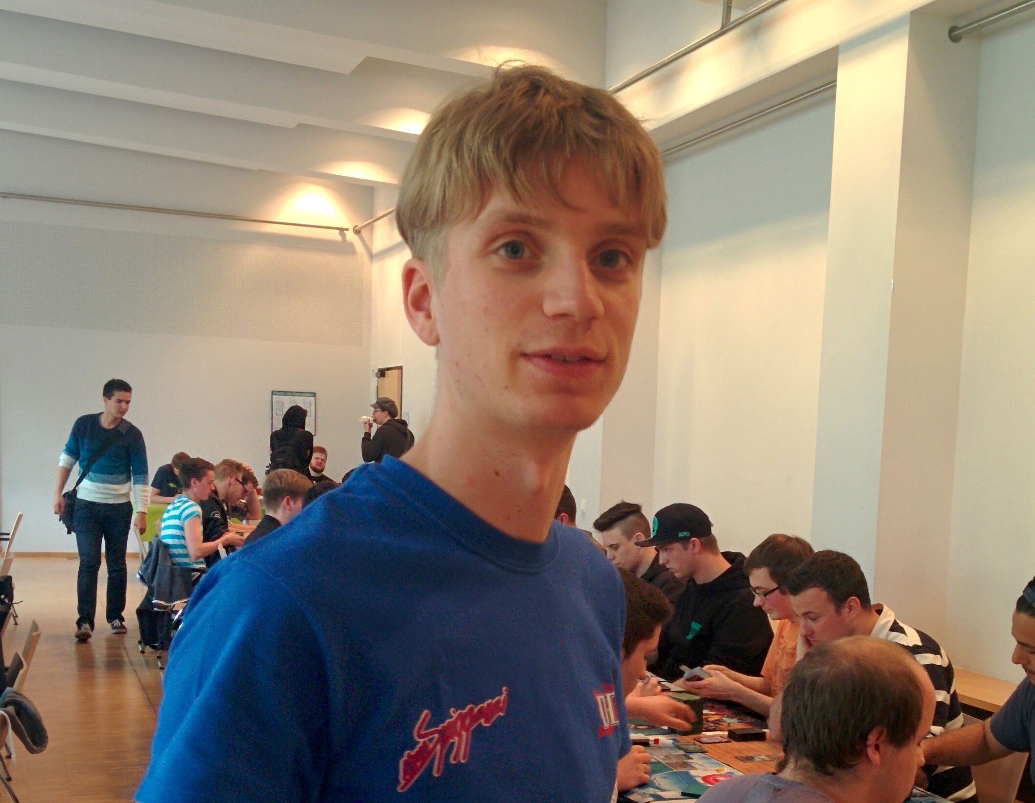 Neulings-Schiedsrichter auf einem Großturnier (Interview)