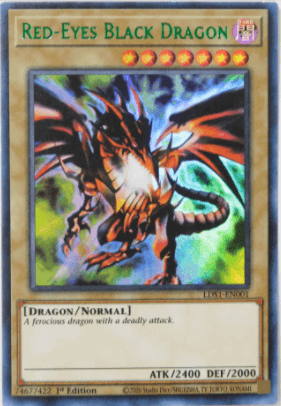 Red-Eyes Colored Rare